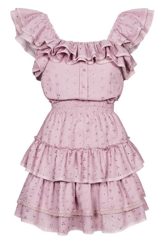 Mona light pink dress