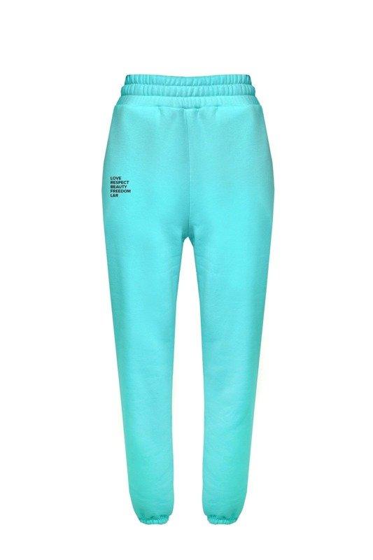Nelly Aqua sweatpants