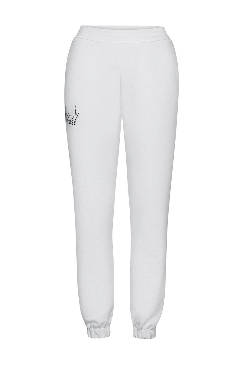 Spodnie dresowe Naomi white