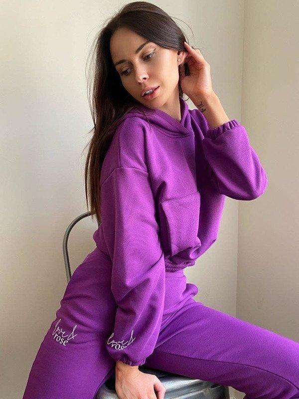 Spodnie dresowe Naomi purple